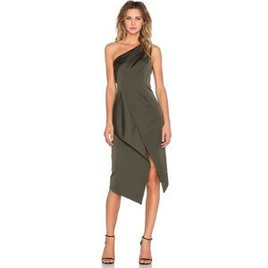 KEEPSAKE Inhibitions Dress in Khaki